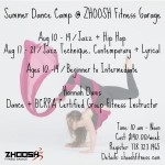 Summer Dance Camp @ ZHOOSH Fitness Garage